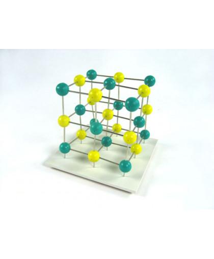 """Демонстрационная модель """"Атомная кристаллическая решетка каменной соли"""""""