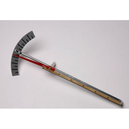 Пластина биметаллическая со стрелкой