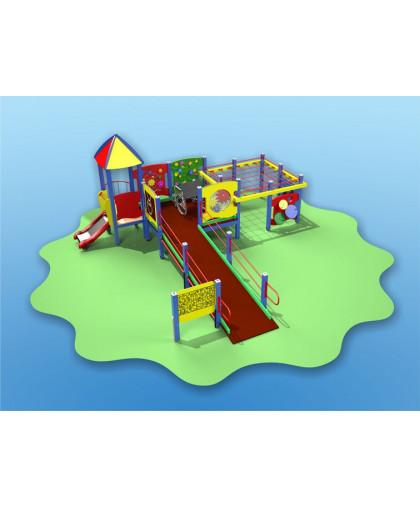 Детский игровой комплекс для детей с ограниченными физическими возможностями