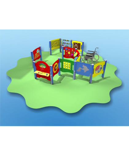 Лабиринт сенсорный для детей с ограниченными физическими возможностями