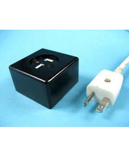 Розетка электрическая 42В (полюсная)