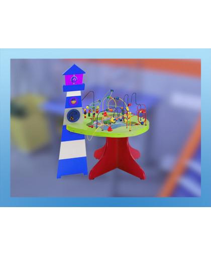 """Детский игровой сенсомоторный комплекс """"Бусинка 1.02"""""""