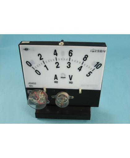 Ампервольтметр для постоянного и переменного тока демонстрационный A-V