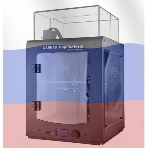 3D принтер Wanhao Duplicator 6 Plus с закрытым корпусом (Версия RUS)