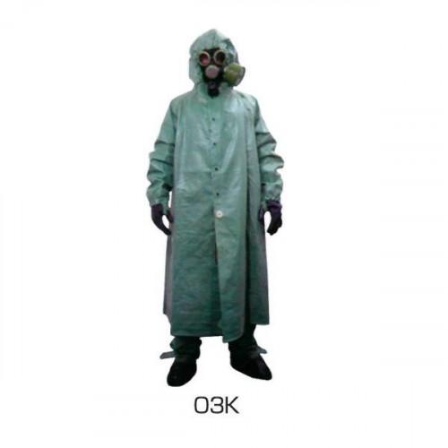 Защитный костюм ОЗК (плащ ОП-1, чулки, перчатки Л-1)