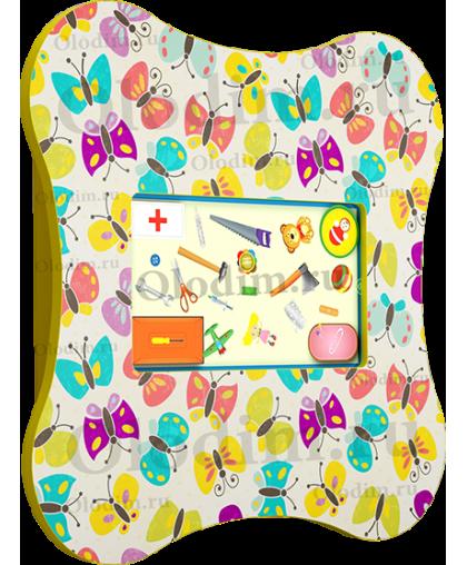 Комплекс Бабочка ( панель и стол. 2 в одном)