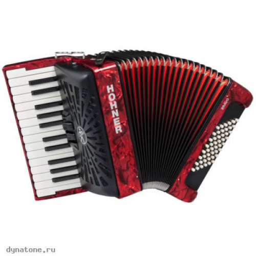 HOHNER Bravo II 48 red - Аккордеон 1/2 Хонер