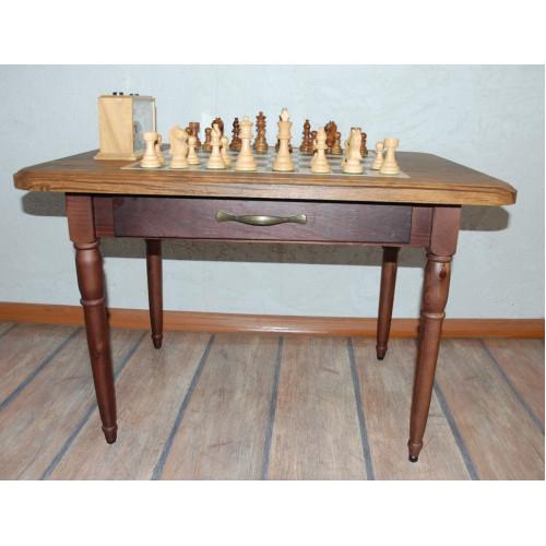 Часы шахматные кварцевые + Стол шахматный