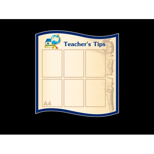 TEACHER'S TIPS